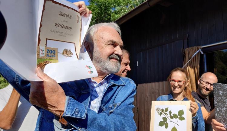 Zoo představila myšici Cimrmanovu, jejím patronem není nikdo jiný než Zdeněk Svěrák