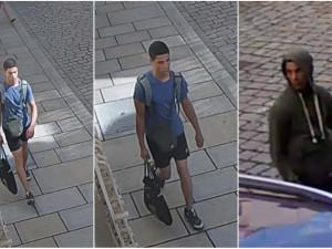 Zloděj se vloupal do bytu a odnesl si cennosti za desítky tisíc, podezřelého na ulici zachytila kamera