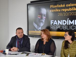 Plzeň se připravuje na oslavy vzniku republiky, připraví 40 atraktivních míst