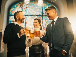 Ideálním místem pro firemní večírek je pivovar Plzeňský Prazdroj