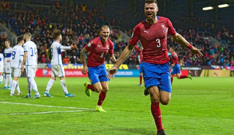Česká reprezentace porazila Kosovo.