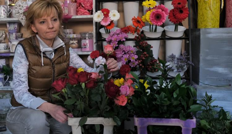 FOTOGALERIE: Uzavřené květinářství v Blovicích