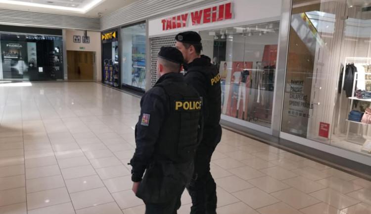 FOTOGALERIE: Policejní kontroly na hraničních přechodech