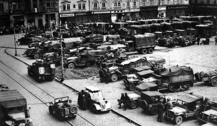 FOTOGALERIE: Osvobození Plzně a konec 2. světové války