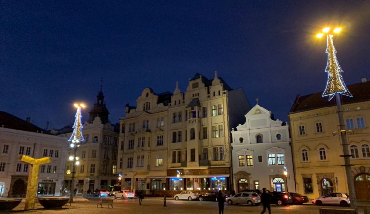 FOTOGALERIE: Vánoční výzdoba v Plzni